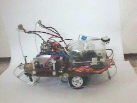 Rov Ethernet Robot Camera Motors Project